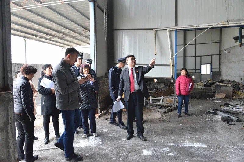 莱芜中院执行法官排除干扰 完成价值千万厂房交付