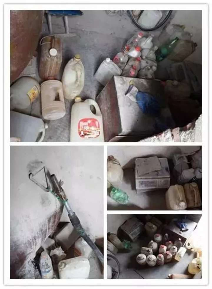 非法私存数百斤汽油!烟台一女子自家院中藏汽油被拘