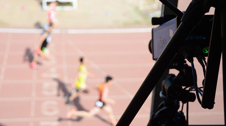 全运会电子计时设备亮相山东普高招生体育测试
