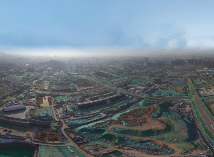 济南CBD建设火力全开 年底第一高主塔楼建至25层