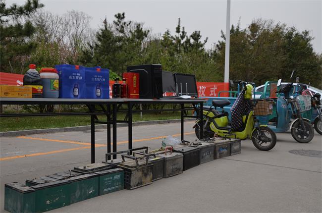 潍坊经济公安集中返还群众被盗物品