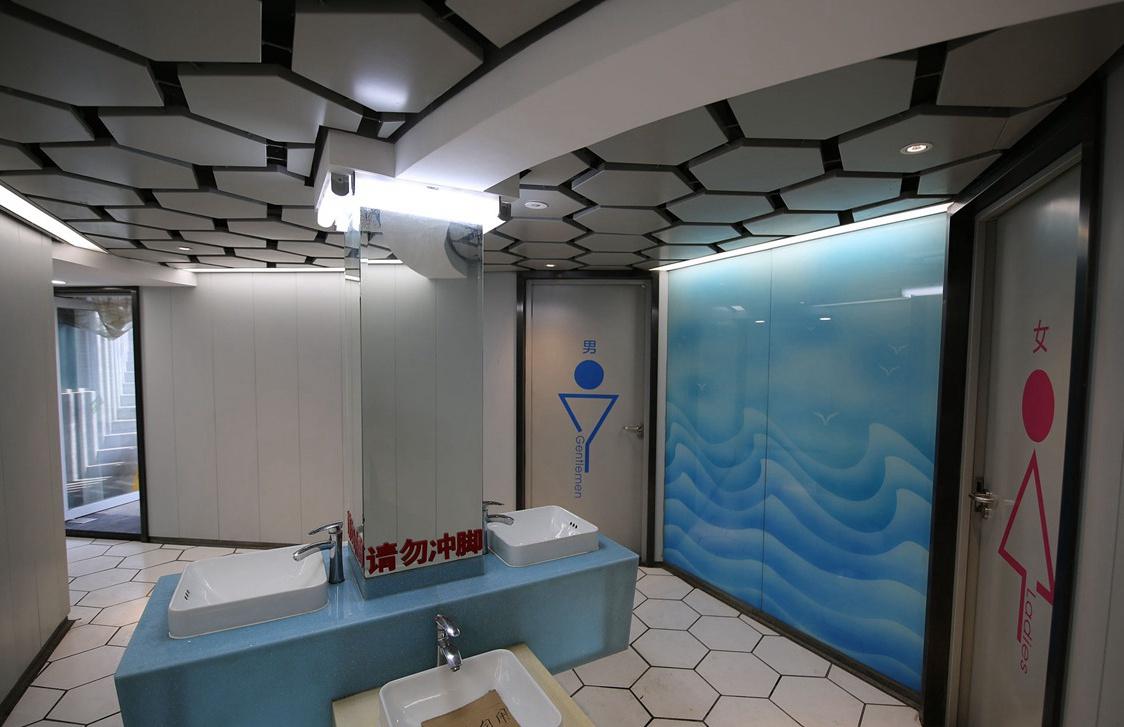 """""""厕所革命""""提档升级!青岛丰富厕所人性化服务"""