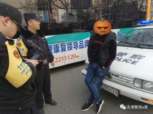 日照:男子酒后无故拦截警车被依法行政拘留