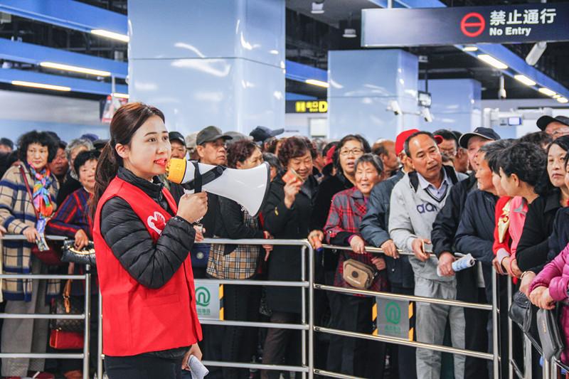 人气爆棚!青岛地铁11号线试乘延长一天 开放时间段也延长