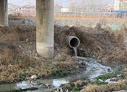济南仲宫:卧虎山水库上游污水外溢点封堵完毕