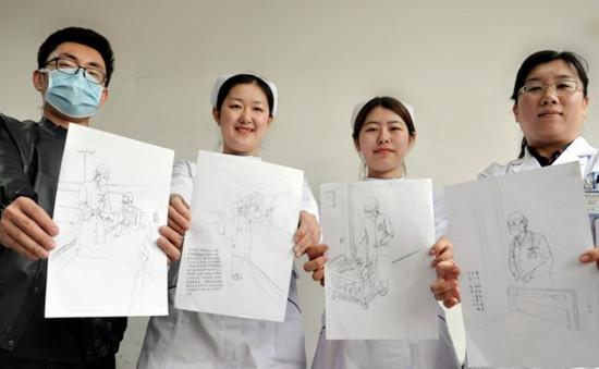 43秒丨青岛一患者在医院偷拍护士 两周内干的事却看哭所有人