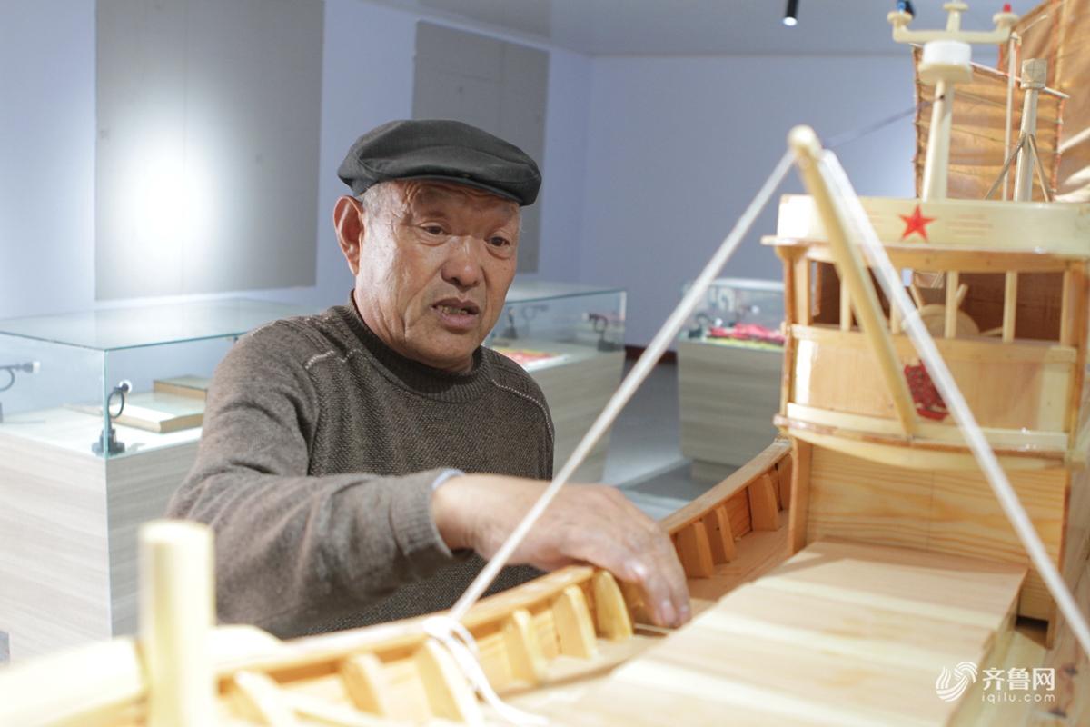 从工匠到非遗传人 日照老人50年坚守传统造船技艺