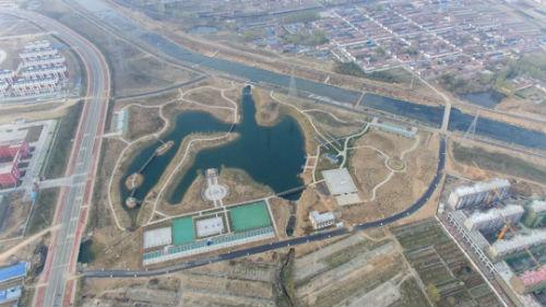 岚山8.2万平方米湿地公园惊艳亮相 计划六月底前完工