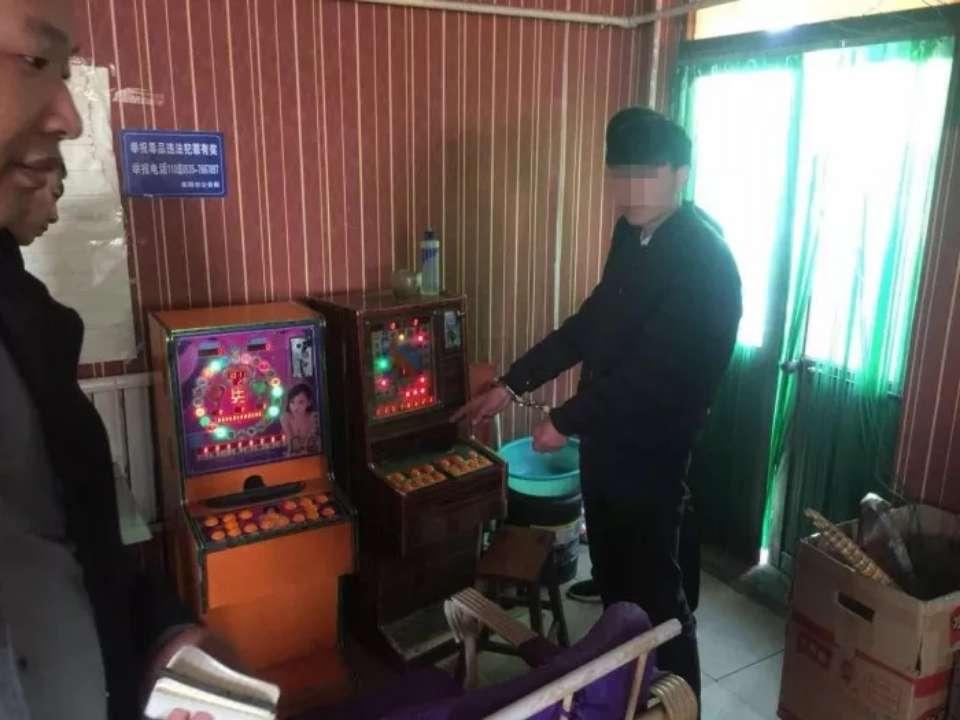 """莱阳:超市、棋牌室投放""""游戏机"""",3人涉嫌开赌场被刑拘"""