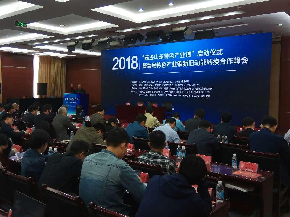 """2018""""走进山东特色产业镇""""活动在邹平正式启动"""