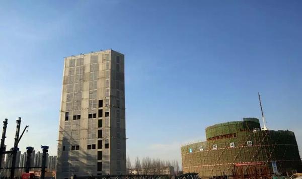 济南西部会展中心主体6月封顶 竣工时间将提前半年