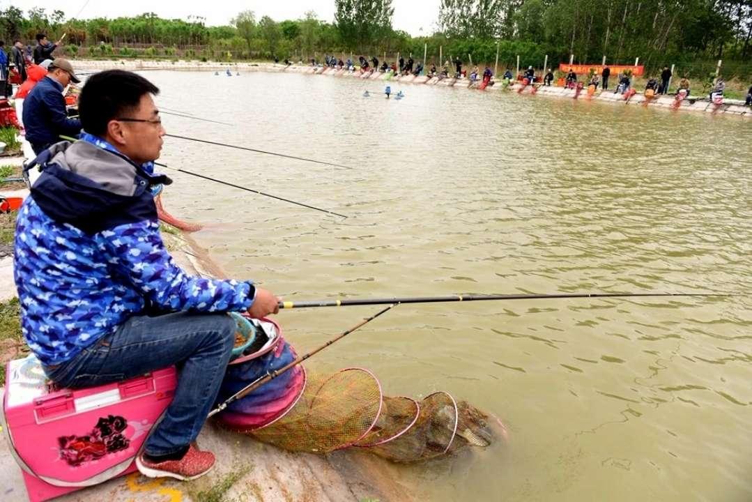 菏泽第二十届钓鱼比赛举行 冠军仨小时钓71斤