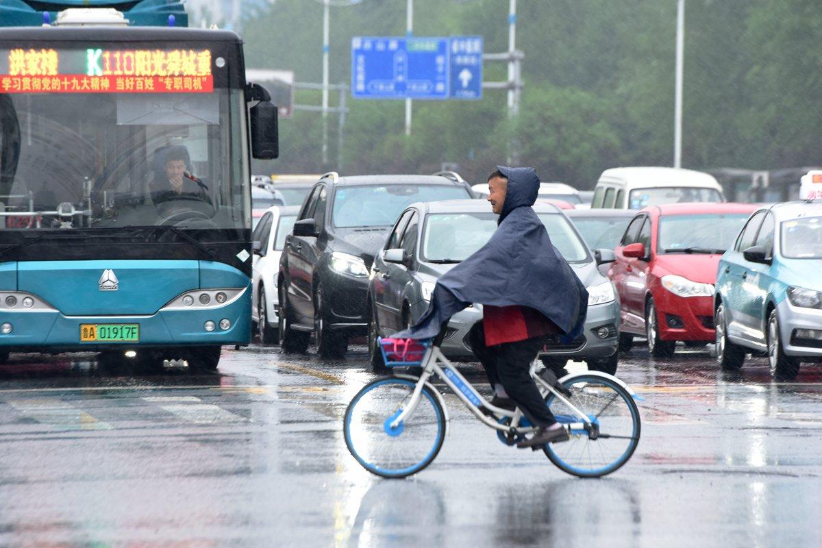 海丽气象吧丨济南气象局发暴雨蓝色预警 多地降雨超50毫米