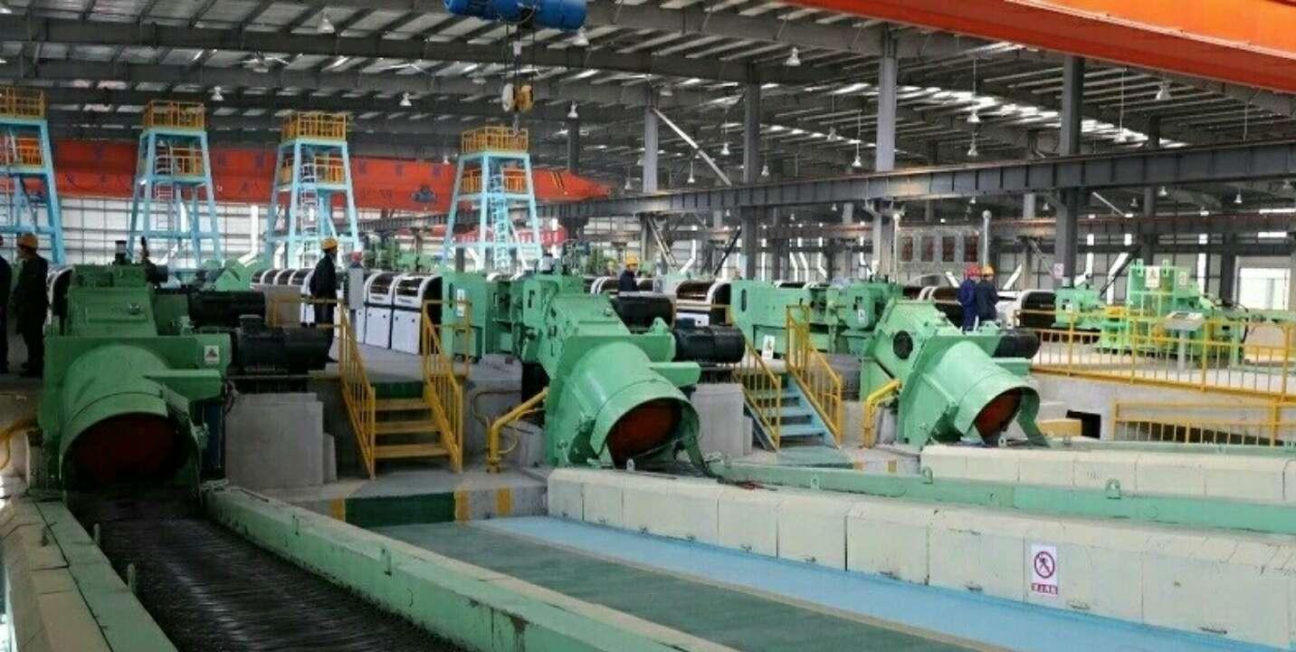 山东高速新材料科技公司高延性冷轧带肋钢筋项目一期工程顺利投产