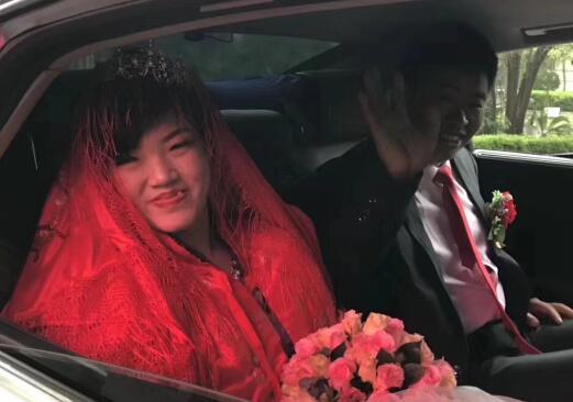 """济南社会福利院""""福家女儿""""出嫁啦"""