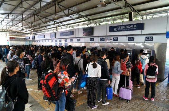 助力五一出行 中国铁路济南局集团公司日均增加5万席位