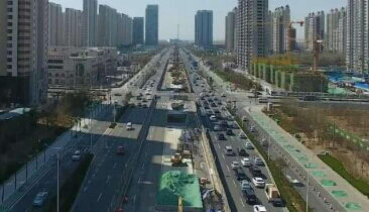 济南:北园高架西延工程进展顺利 明年元旦通车