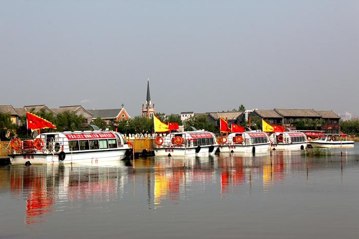 开全省先例!聊城水上巴士正式启动运营 运河古城再焕新生机