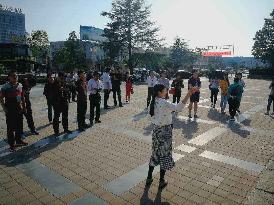 中国网络媒体走进单县湖西公园:望历史 看今朝