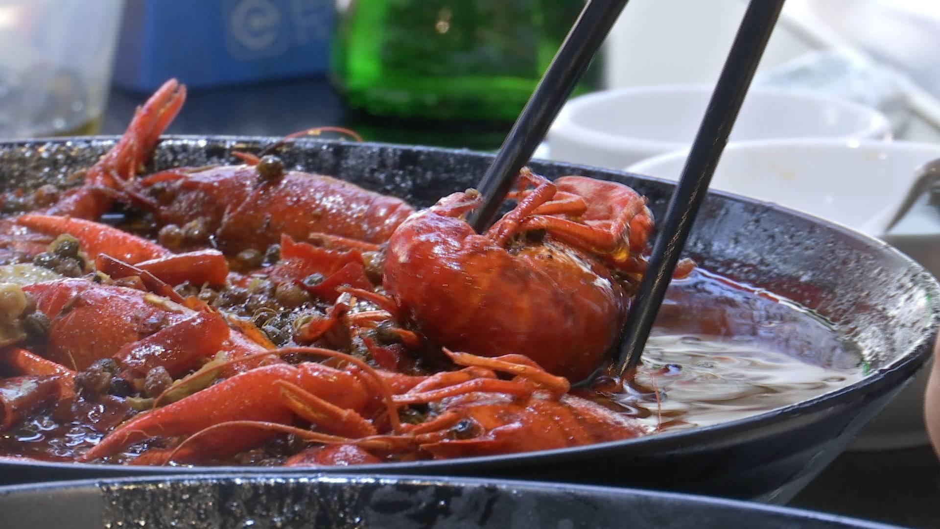 39秒 | 夜宵标配小龙虾如何从微山湖藕田到餐桌?