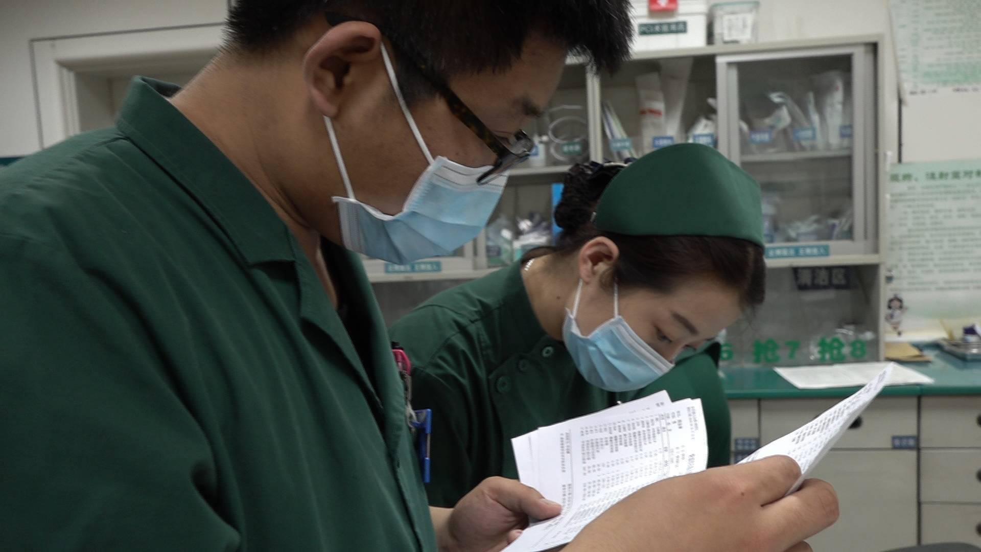 63秒丨急诊室里的男护士:救人就是我的奋斗
