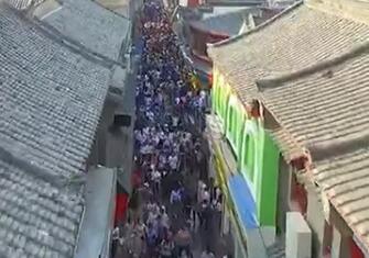 """年轻人集体""""打卡""""网红济南 假期山东乡村游自驾游持续火爆"""