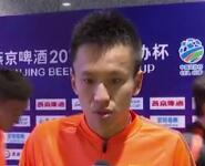 《超级赛场》采访张弛:肯定自己首发表现 跌宕起伏是足球魅力