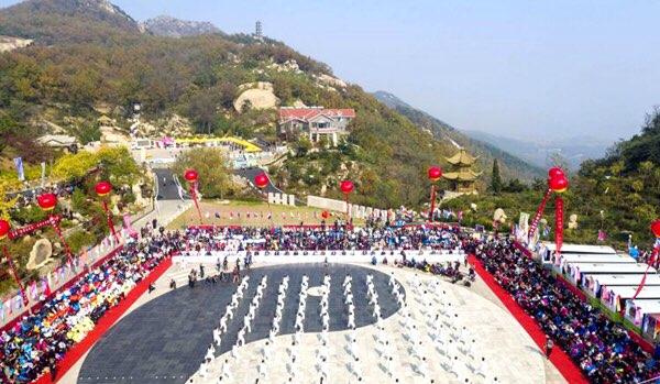中国(日照)大青山第六届国际太极拳大赛近日开赛