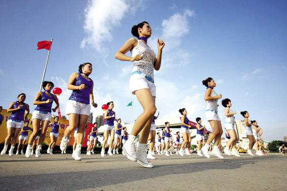山东5月将举办两大国家级全民健身赛事 分别在东营泰安