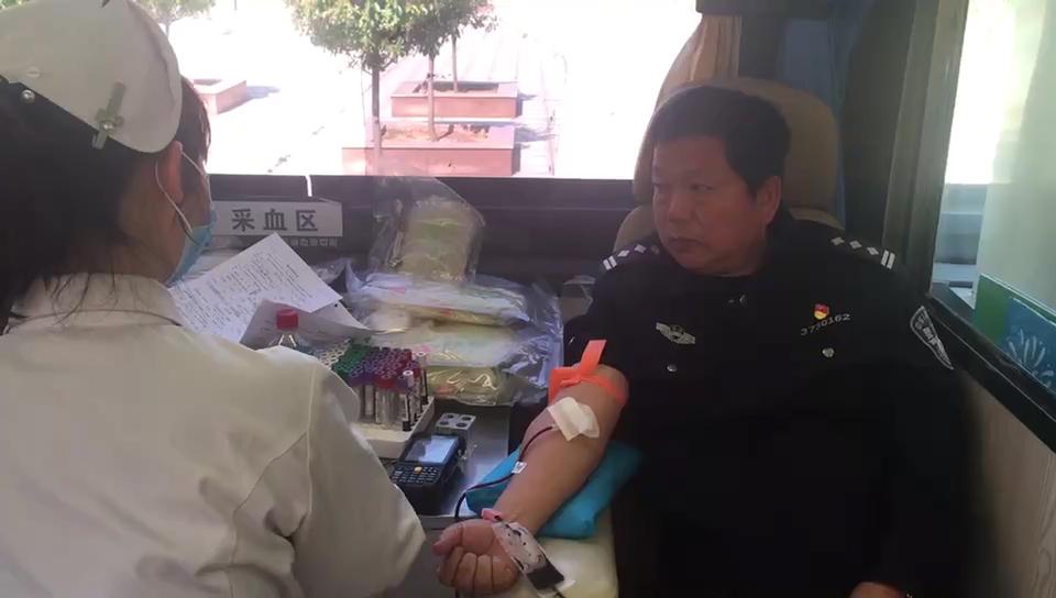36秒|用热血奉献青春 山东戒毒所民警集体无偿献血
