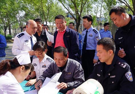 鲁中戒毒所组织警察职工开展无偿义务献血活动