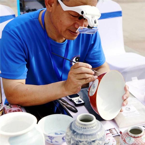 古陶瓷无痕修复技艺面临失传 济南启动技艺传承与培养活动