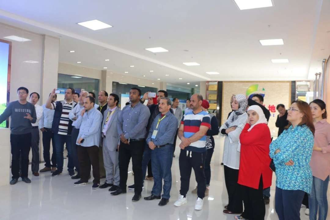 菏泽农村电商名声持续扩大 迎来埃及研修班