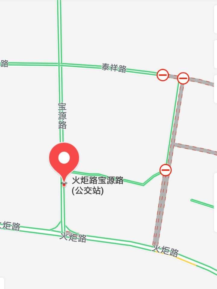 青岛火炬路宝源路站点临时取消 影响多路公交