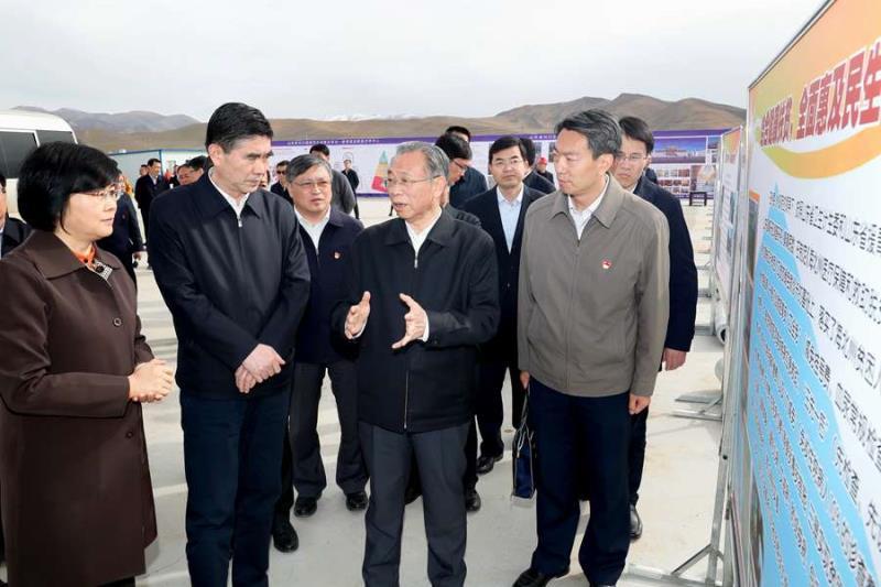 山东省党政代表团在青海调研对口支援工作