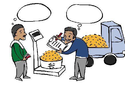 高青:以砂石冒充粮食斤两 无良商贩骗取村民辛苦钱被抓