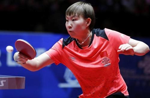 鲁能乒超球员朱雨玲代表中国女乒卫冕世乒赛团体冠军