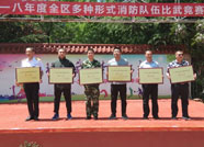 潍坊奎文区举行消防比武 潍坊机场消防大队取得优异成绩