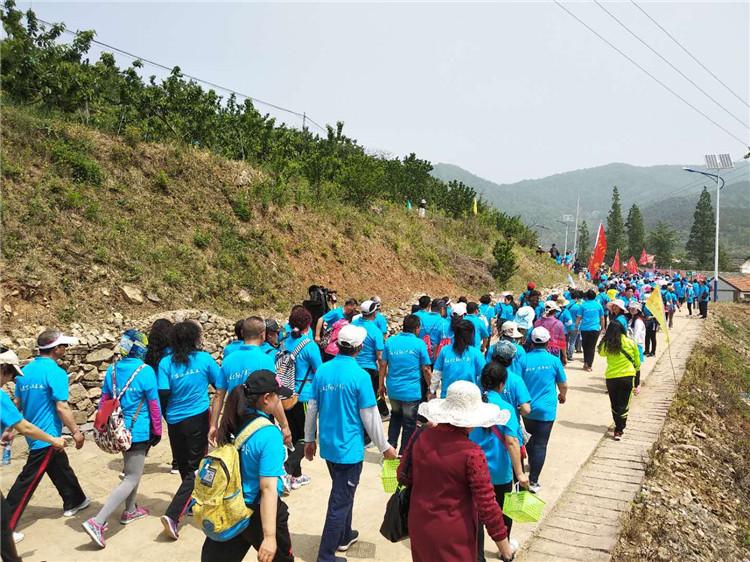 生态五莲国家登山健身步道体验活动举办 1200人参加