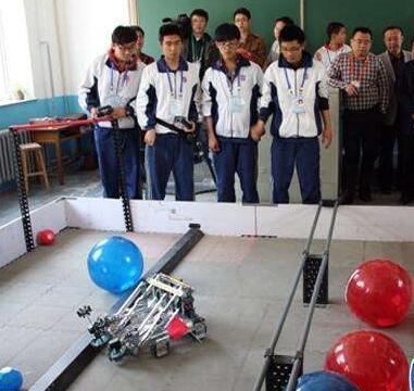 第18届山东省青少年机器人竞赛举办 1200名师生参赛