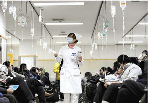 山东每千人口医疗床位5.85张 拥有医院2450个
