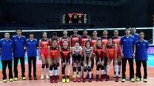 中国女排3:0多米尼加 取得世界女排联赛开门红