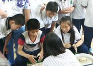 助残日临近 山东省少儿馆700册图书进入特教学校