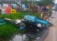 滨州一轿车与电动三轮相撞后逃逸 嫌疑人已移交讯问