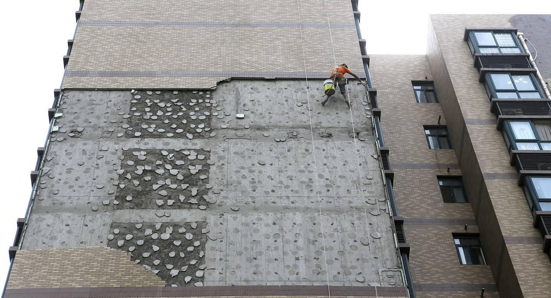 54秒|关注外墙保温层安全 如何破解悬在头顶的墙皮隐患