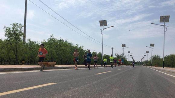德州市第十五届全民健身节开幕