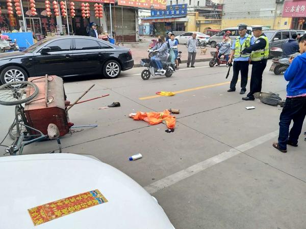 枣庄三天内两名环卫工被撞伤 肇事车均逃逸