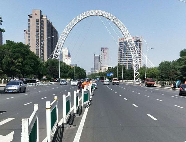 潍坊东风街虞河桥面将进行半封闭施工