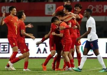 鲁能小将单刀破门 U19国家队熊猫杯夺冠