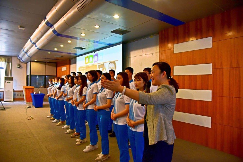 400名上合组织青岛峰会志愿服务驿站志愿者即将上岗